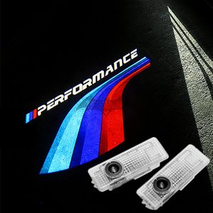 2X Performance Wings LED Welcome Lights For BMW F30 320i 330i F10 520i 525i    M Ghost Shadow Car Door 3D Laser Projector Lamp