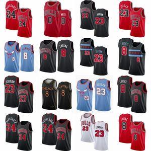 MJ 23 Michael Zach 8 LaVine Jersey Coby 0 White Wendell 34 Carter Jr. City ChicagoBullMens Williams basketball jerseys