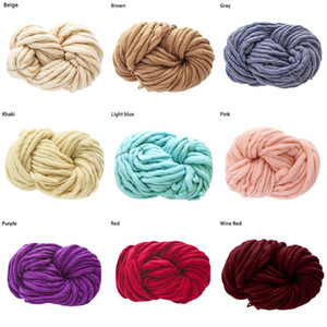 Cotton Thread Chunky Soft Wool Yarn Scarf Knit Thickness Warm Hat Household Supplies for weaving and crocheting clothes#916g40