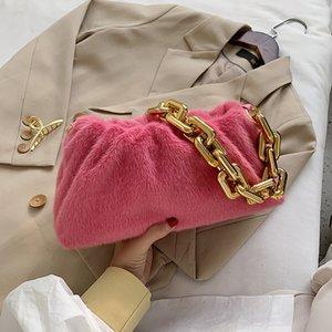 Advanced Single Shoulder Shoulder Donne 2021 New Fashion Versatile Maomao Bag Bag Red Handbag UHN1