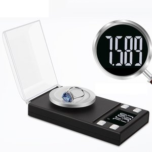 0.001g Portable Jewelry Scale LCD Mini Electronic Digital Scales Pocket Scale Kitchen Jewelry Weight Balance Digital Scale CCA3953
