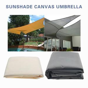 Sombra Sape impermeável Sun Shelter Sunshade Outdoor Canopy Jardim Jardim Pátio Piscina Sombra Sail Car Car Acampamento Pano Grande