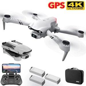 2021 Nova câmera dupla 4K HD com GPS 5G WiFi Grande Angular FPV Transmissão em Tempo Real RC Distância 2km Drone Profissional