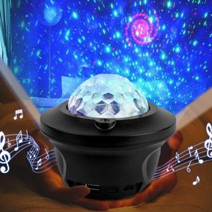 1 PCS USB LED Bluetooth Music Starlight Starlight Projecteur Galaxy Watermark Butterfly Starry Night Lamp Star Sky Projecti Jlllsm