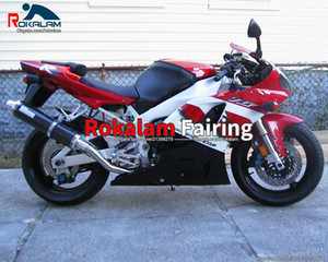 For Yamaha YZF R1 98 99 YZF1000R1 YZF1000-R1 1998 1999 Red White Sport Bike Fairing (Injection Molding)
