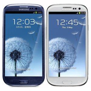 الأصلي تم تجديده Samsung Galaxy S3 I9300 I9305 4.8 بوصة رباعية النواة 1 جيجابايت رام 16 جيجابايت روم 3 جرام / 4G مقفلة الروبوت الهاتف الخليوي الذكية DHL 10PCS