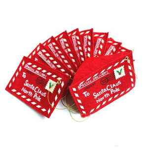크리스마스 선물 카드 홀더 선물 카드 상자 캔디 홀더 봉투 크리스마스 돈 카드 홀더 빨간색 wy1152