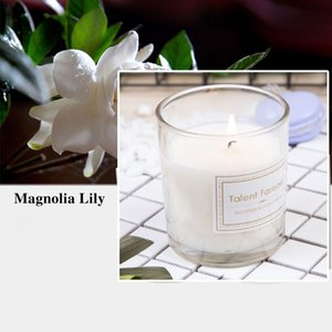 Aromatherapy Candle Smokeless Scented Candle Transparent Glass Candle Gift Box Valentines Day Gifts Wedding Decorations OWD4962