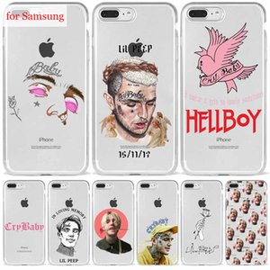 Lil Peep Lil Bo Peep CryBaby Soft Silicone TPU Phone Cover for Samsung S8 9 10 S20 Plus Case for Galaxy A10 A20 A40 A50 A51 A70