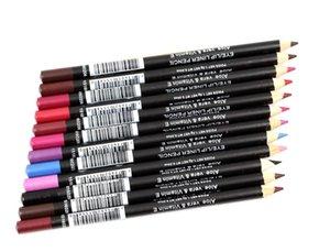 Линии для губ карандаш цветные карандаши алоэ вера и витамин е водонепроницаемые богатые цветные питательные натуральные легко носить Coloris оптом глаза макияж