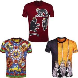 2021 Yeni Bakire Mary erkek T-Shirt Komik Baskılı Kısa Kollu Tişörtleri Yaz Hip Hop Rahat Pamuk Tees Streetwear DY658 08MT Tops