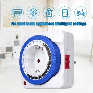 Timers Timer Switch Socket Automatically Turn On Off Electrical Appliances 24 Hours Mechanical Plug Time Controller