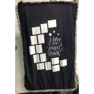 Mantas de los paneles del corazón de las mantas de los paneles para las mantas de sublimación mantas cuadradas para sublimación Theramal Transfer Impress Rug 782 K2