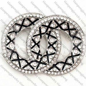 Best Quality Women Designer Brooch Fashion Designer Jewelry Crystal Brooch Pins Alloy Brooch Clothing Luxury Brooches