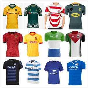 2021 S Afrika İspanya Arjantin Fransızca Italia Avustralya Maori Filistin Sierra Leone Janpan Rugby Formalar Gömlek Ulusal Takım Spor Gömlek