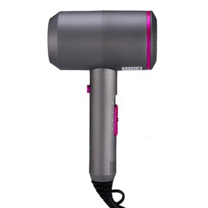Hair Dryers -220V 2000W Ionic Constant Temperature Blow Dryer Fast Dry And Cold EU Plug