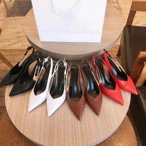 Luxo designer de couro mulheres fivela alto salto alto gladiador sandal 2021 moda apontou vestido de noiva raso sapato único sapatos