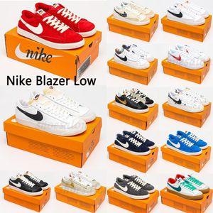 2021 Nike Blazer Low SD Men Mid 77 Casual Shoes Vintage ZOOM Beach Grim Reepers All Hallows Eve black White Bright Cactus Rainbow Women Blazers