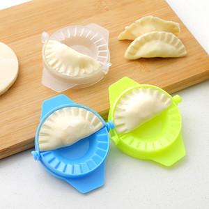 Novo estilo Mão Máquina de Bolinha de Máquina Plástica Plástico Dumpling Pie Pastelaria Pasta Mold Mold Ferramenta Atacado 247 S2