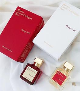 Perfume de la marca Mujeres Fragancia Baccarat Rouge 540 Perfumo femenino 70ml Eau de Parfum Alta Calidad Duradera