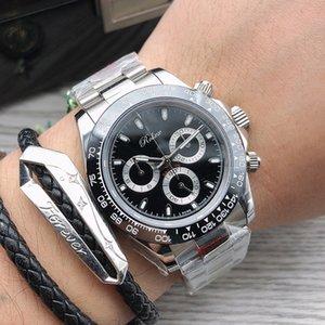 أعلى رجل ووتش الساعات الميكانيكية التلقائي 40 ملليمتر السيراميك الحافة ماء المعصم الرجال الأزياء الأعمال ساعة اليد montre دي لوكس هدايا