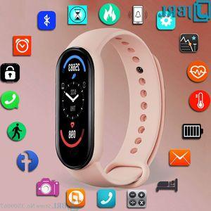Electronic For M6 Ladies Digital Female Watch LED Women Wrist Sport Clock Men Wristwatch es JBRL Brand 21ss