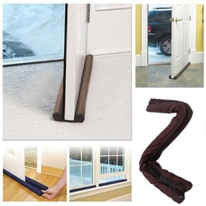 Home Door Twin Door Draft Dodger Guard Stopper Energy Saving Protector Home Dustproof Doorstop Window Twin Draft Guard GWF5443