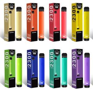 100 % 정품 AIRIS NOVA 일회용 장치 2300puffs 7ml 미리 페로 덮인 포드 카트리지 1250mAh 배터리 vape 펜 전자 담배 가시 오일 탱크