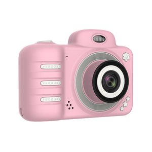 Newly C3 Kids Camera 1080P HD Mini Rechargeable Children Digital Front Rear Selfie Cameras Child Camcorder LCD Screen gift