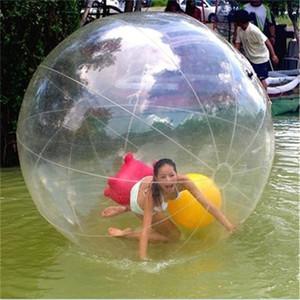 واضح pvc نفخ المياه المشي الكرة الهامستر الهامستر الرقص فقاعة الكرة مع جودة عالية سستة لحمام السباحة المياه الترفيه اللعب