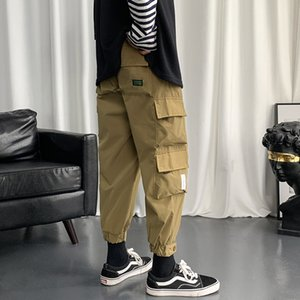 The best selling spring 2021 new men's lightweight bulky pocket fashion cargo pants are on sale at wholesale price