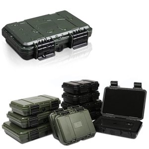 Tool Organizers Shockproof Sealed Safety Case Toolbox Airtight Waterproof Box Instrument Dry With Pre-cut Foam Lockable
