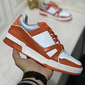 2021 뉴스 도착 패션 남성 여성 운동화 높은 캐주얼 스 니 커 즈 최고 품질 정품 가죽 플랫 신발