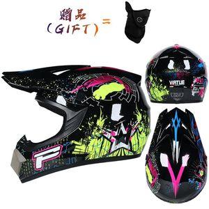 Motorcycle Helmets Professional Motocross Helmet Road Capacete Casco Racing Cascade Downhill Crossed DOT