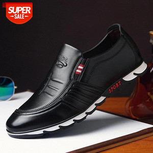 2020 New Leather Shoes Men Casual Shoes Comfort Men Youth Driving Loafers Male Footwear Mocassins Leather #MG0j