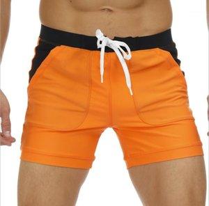 Sports Hombres Beach Trunks Lâche Respirant Respirant Shorts à sec Vêtements Mens Vêtements Summer Board Short Short Casual