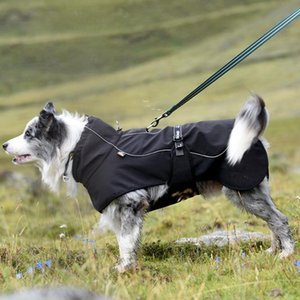 Pet raincoat spring lightweight breathable poncho large and medium-sized dog warm raincoat pet clothes