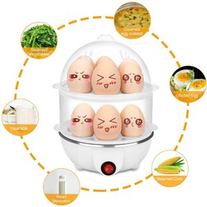 Multifunctional Electric Double Layer Egg steamer Household Kitchen Appliances For Fast Multifunctional Double Layer Egg Steamer