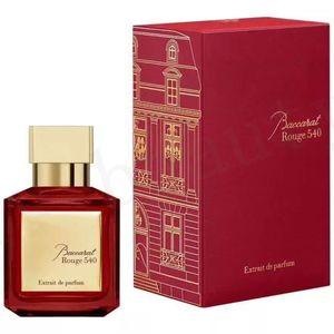 Оптовая высокое качество для мужчин Baccarat Rouge 540 A La Rose Oud Silk Wood Женщины Extrait Eau de Parfum 70 мл EDP Быстрая доставка