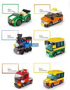LOZ Mystery Boxes& Mini Building Blocks of Dinosaur, Car, Military Truck& Engineering Vehicle, DIY Educational Toy, Kid Christmas Gift, USEU