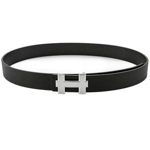 Fashion belt Genuine Leather Men Belt High Quality H Smooth Buckle Mens Belts For Women belt Jeans Cow Strap Gifts for men women