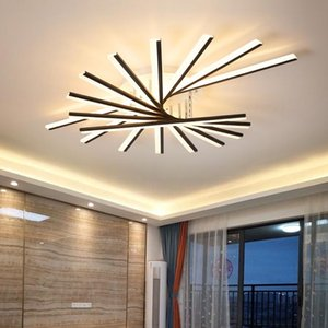 New Adjustable led Chandelier for Living Room Bedroom Nordic Bedroom kitchern Home Ceiling Lamps Indoor Lighting