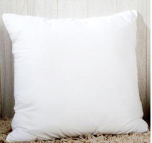45 * 45 cm Sublimation Taie d'oreiller carrée Couvercle de taies d'oreiller bricolage pour caisses de canapé de transfert de chaleur View blanc oreiller oreiller A06