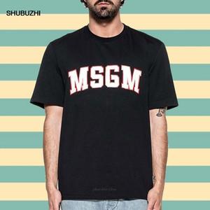 Moda uomo maniche corte donna T Shirt Msgm T-shirt in cotone T-shirt da donna Tshirt in cotone uomo estate T-shirt moda Euro Taglia L0223
