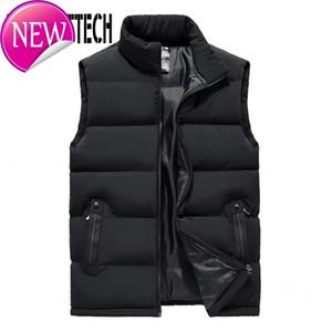 Spring Autumn Mens Vest Casual Man Sleeveless Jacket Coat Male Warm Cotton-padded Waistcoat Men Gilet Veste Hommes