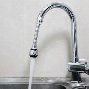 Ajuste de 360 graus Faucet de cozinha Tubo de extensão do banheiro Extensão de água Torneira de água Filtro de água Espuma Acessórios para torneira GWF5296