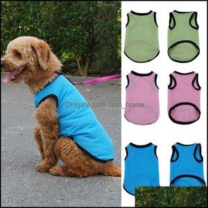 Dog Supplies Home & Gardendog Apparel Fashion Pet Cat Mesh Design Soft Sleeveless Vest Summer Regar Costume Hand-Wash Pets Aessories Drop De