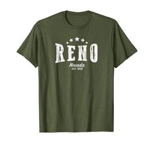 Camicia Reno NV in difficoltà Vintage Home Pride
