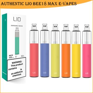 Original IJOY 208 LIO BEE18 Disposable Vape Pen Electronic Cigarette Vapes 1000 Puffs 1000mAh Battery 5.0ml Pods