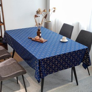Table Cloth Rectangle Home Decor Jacquard Geometric Living Room Desk Spillproof Square Kitchen Dinning Wrinkle Resistant Elegant